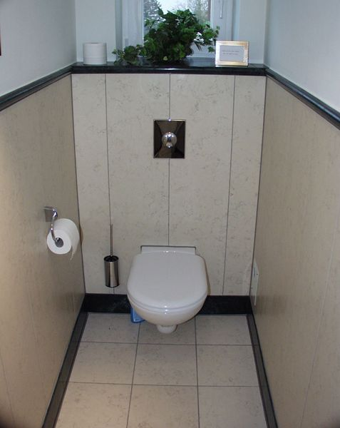 Wc Fliesen helle fliesengestaltung wc